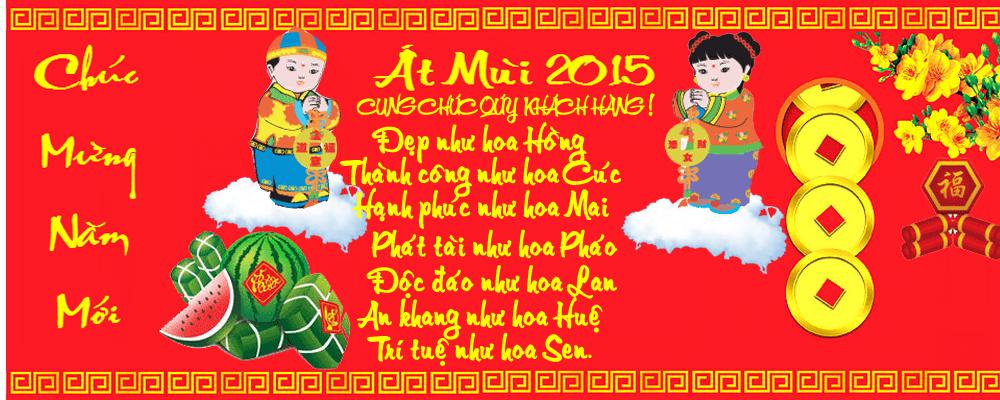 Tâm thảo hàng thái lan - Happy new year 2015